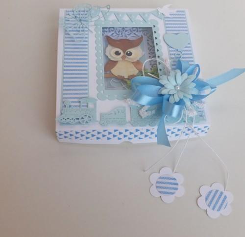 dla dzieci , pamiątka, życzenia,   karteczka ręcznie robiona wykrojnik, sizzix, memory box
