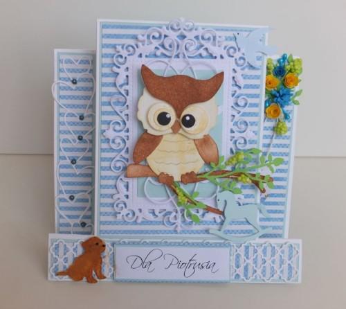 dla dzieci , pamiątka, życzenia,   karteczka ręcznie robiona wykrojnik, sizzix, memory boxDSCF3097