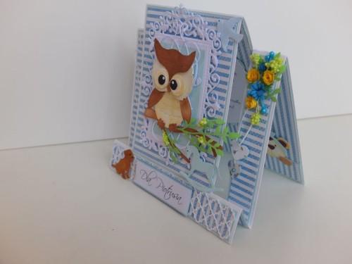 dla dzieci , pamiątka, życzenia,   karteczka ręcznie robiona wykrojnik, sizzix, memory boxDSCF3100