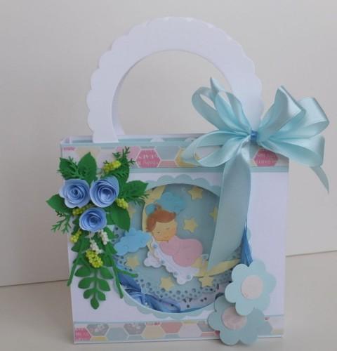 karteczka ręcznie robiona, życzenia dla dzieci wykrojnik cottage cutz Marianna Desing, sizzixDSCF3268