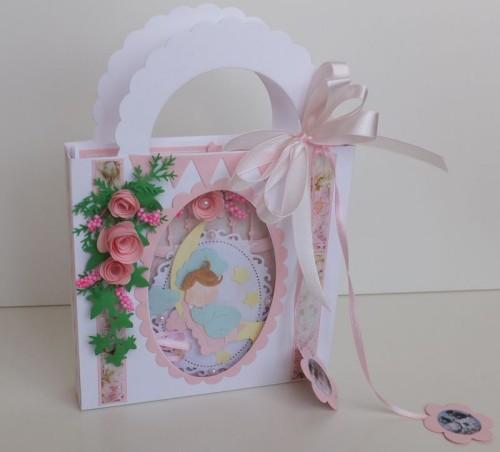 karteczka ręcznie robiona, życzenia dla dzieci wykrojnik cottage cutz Marianna Desing, sizzixDSCF3285