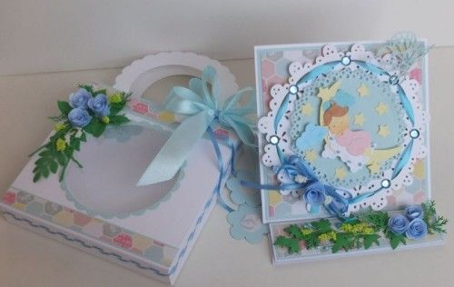 karteczka ręcznie robiona, życzenia dla dzieci wykrojnik cottage cutz Marianna Desing, sizzixDSCF3270
