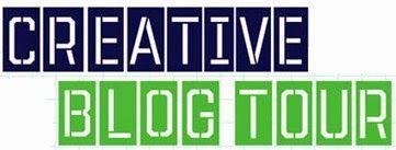 creative blog tour sign