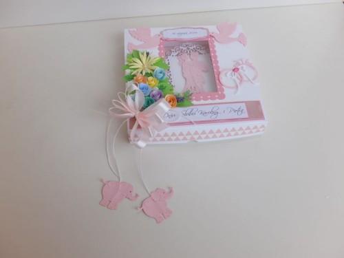 ślub , pamiątka, życzenia,   karteczka ręcznie robiona wykrojnik, sizzix, memory boxDSCF3109