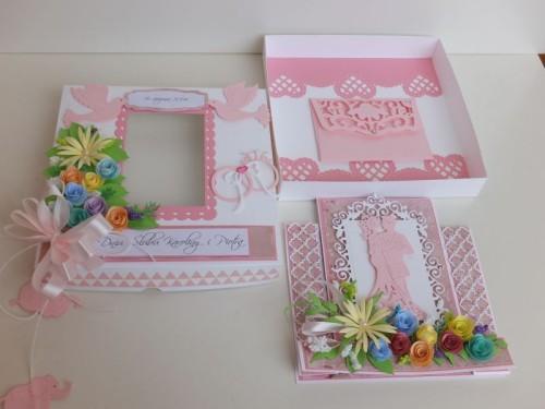 ślub , pamiątka, życzenia,   karteczka ręcznie robiona wykrojnik, sizzix, memory boxDSCF3110