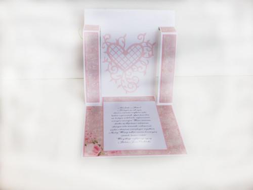 ślub , pamiątka, życzenia,   karteczka ręcznie robiona wykrojnik, sizzix, memory boxDSCF3113