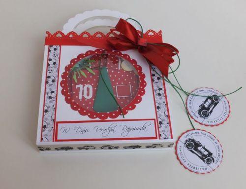 Urodziny, życzenia, karteczka recznie robiona wykrojnik, sizzix, memory box.jpgl