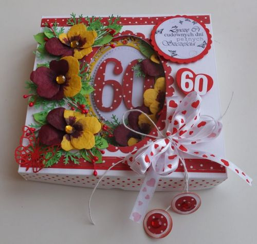 Urodziny, życzenia, karteczka recznie robiona wykrojnik, sizzix, memory boxDSCF3066
