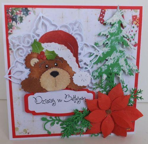 Wykrojnik Cottage Cutz, zyczenia, karteczka, Boże NarodzenieDSCF3446