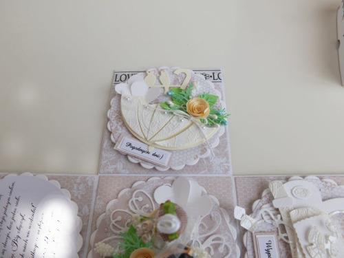 ślub, pamiątka, życzenia,   karteczka ręcznie robiona wykrojnik, sizzix, memory boxDSCF3071