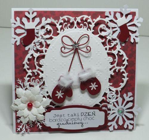 kartka ręcznie robiona, życzenia, Boże NarodzenieDSCF3021