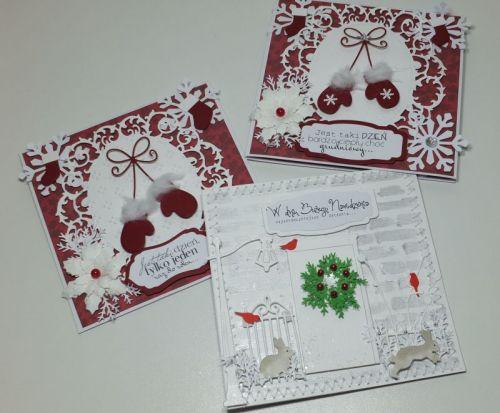 kartka ręcznie robiona, życzenia, Boże NarodzenieDSCF3025