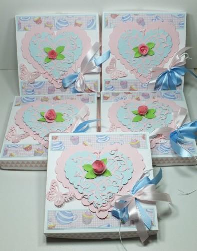 karteczka recznie robiona,serduszko, różyczki, Dzień Babci, Urodziny, WalentynkiDSCF3007