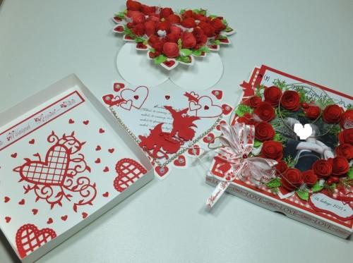 karteczka, Walentynki, serduszko, wykrojnik, sizzix, memory box, Marianna Desing, Marta Stewart, serduszko, życzenia, karteczka ręcznie robiona, DSCF3009