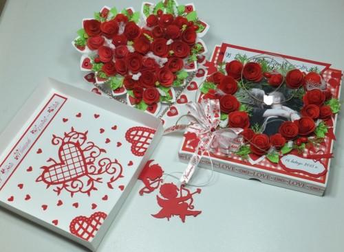 karteczka, Walentynki, serduszko, wykrojnik, sizzix, memory box, Marianna Desing, Marta Stewart, serduszko, życzenia, karteczka ręcznie robiona, DSCF3010