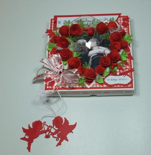 karteczka, Walentynki, serduszko, wykrojnik, sizzix, memory box, Marianna Desing, Marta Stewart, serduszko, życzenia, karteczka ręcznie robiona, DSCF3011