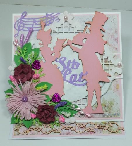 Dzień Babci, Dzień Dziadka, karteczka, życzenia, wykrojnik sizzix, DSCF3024
