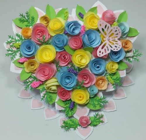 serduszko, różyczki, Dzień Babci, Urodziny, WalentynkiDSCF3006