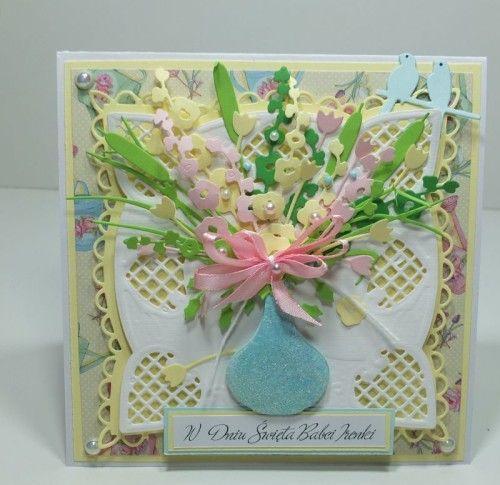 Dzień Babci, Dzień Dziadka, życzenia, karteczka, wykrojnik, Marianna Desing, cottage cutz, memory Box,DSCF3012