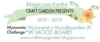 baner magiczna kartka moodboard