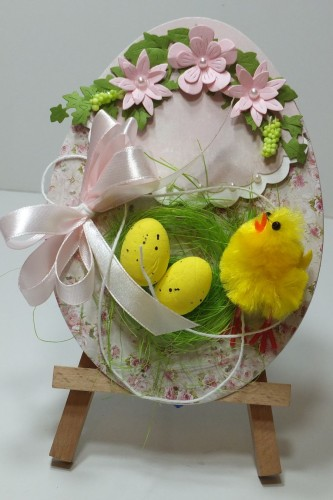 Karteczka ręcznie robiona Wielkanoc, życzenia DSCF3297