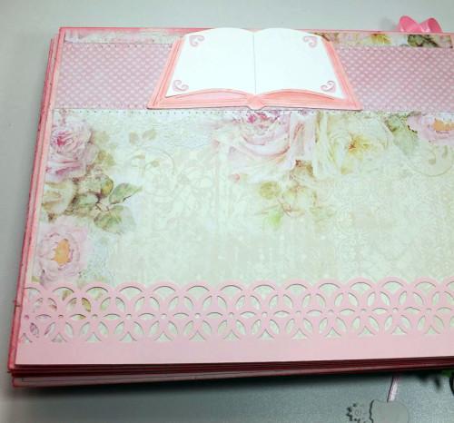 Album komunijny, ręcznie robiony, scrapbooking, życzeniaDSCF3576