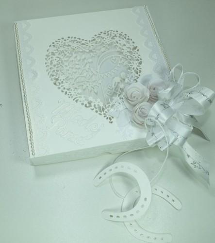 Pamiątka ślubna, kartka ręcznie robionaDSCF3659