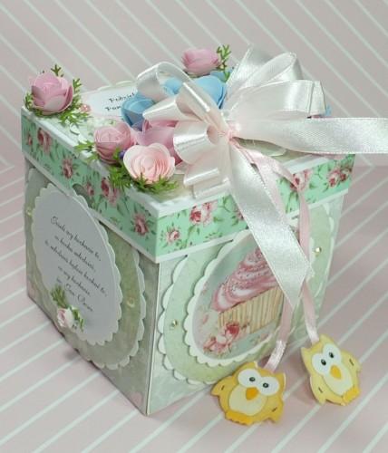 kartka ręcznie robiona, życzenia, exploding box,podziękowanie, nauczycielDSCF3932
