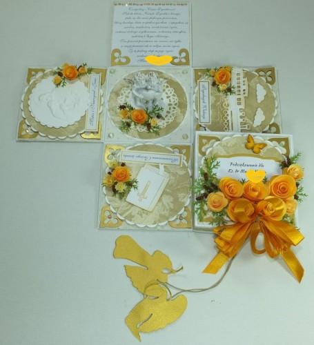 kartka ręcznie robiona, życzenia, exploding box,podziękowanie, nauczycielDSCF3936