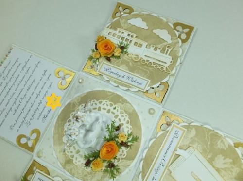 kartka ręcznie robiona, życzenia, exploding box,podziękowanie, nauczycielDSCF3937