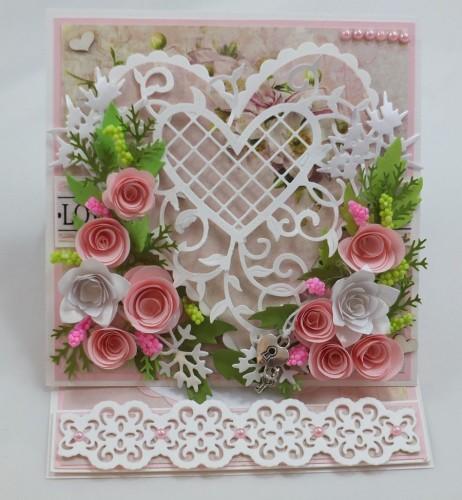 Kartka ręcznie robiona, urodziny, imieniny, Dzień Babci, Dzień Dziadka chrzest, ślub DSCF4190 (142)