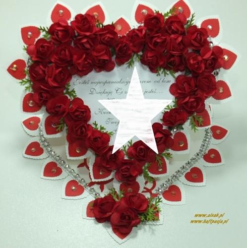 Kartka ręcznie robiona, urodziny, imieniny, Dzień Babci, Dzień Dziadka chrzest, ślub DSCF4190 (148)