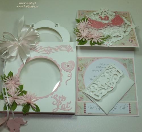 Kartka ręcznie robiona, urodziny, imieniny, Dzień Babci, Dzień Dziadka chrzest, ślub DSCF4190 (43)