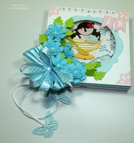 Kartka ręcznie robiona, urodziny, imieniny, Dzień Babci, Dzień Dziadka chrzest, ślub DSCF4190 (45)