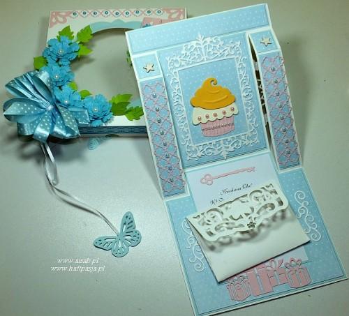 Kartka ręcznie robiona, urodziny, imieniny, Dzień Babci, Dzień Dziadka chrzest, ślub DSCF4190 (46)