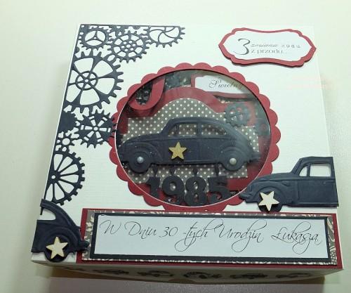 Kartka ręcznie robiona, urodziny, imieniny, Dzień Babci, Dzień Dziadka chrzest, ślub DSCF4190 (49)