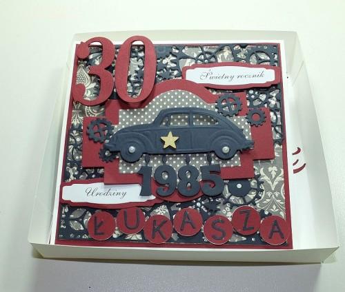 Kartka ręcznie robiona, urodziny, imieniny, Dzień Babci, Dzień Dziadka chrzest, ślub DSCF4190 (50)