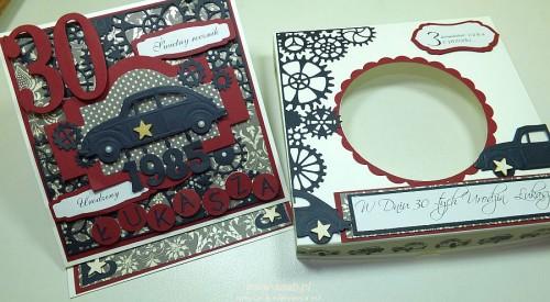 Kartka ręcznie robiona, urodziny, imieniny, Dzień Babci, Dzień Dziadka chrzest, ślub DSCF4190 (52)