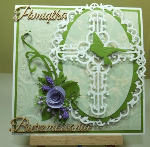 Kartka ręcznie robiona, urodziny, imieniny, Dzień Babci, Dzień Dziadka chrzest, ślub DSCF4190 (65)