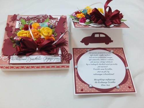 kartka ręcznie robiona Dzień Babci, Dzień Dziadka, Urodziny, Imieniny, życzenia DSCF4440