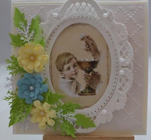 Kartka ręcznie robiona, urodziny, imieniny, Dzień Babci, Dzień Dziadka chrzest, ślub DSCF4190 (134)