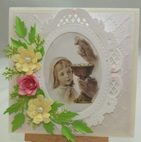 Kartka ręcznie robiona, urodziny, imieniny, Dzień Babci, Dzień Dziadka chrzest, ślub DSCF4190 (137)