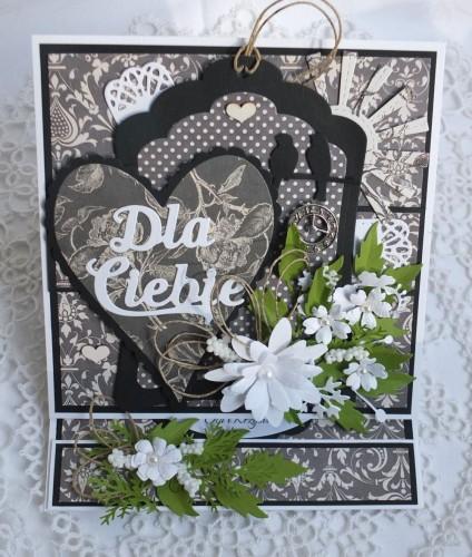Kartki,ręcznie robion, życzenia, zaproszenia ślub, wykrojnik, memory box, sizzix, marianne desing, cottage cutzz (2)