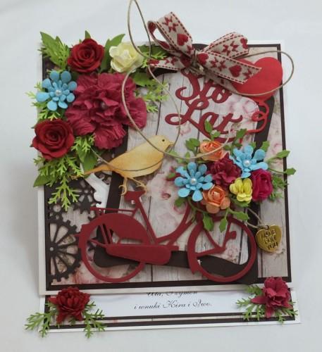kartka ręcznie robiona, memory box, marianne desings , poppy stamps, sizix, cottage cutzz (8)