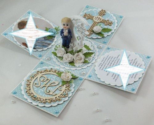 kartka ręcznie robiona, życzenia,imieniny, urodziny, ślub, komunia, chrzest, roczek, wykrojnik  (100)