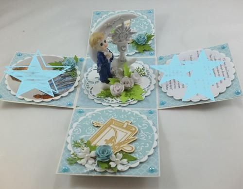 kartka ręcznie robiona, życzenia,imieniny, urodziny, ślub, komunia, chrzest, roczek, wykrojnik  (96)