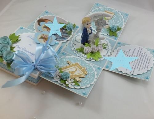 kartka ręcznie robiona, życzenia,imieniny, urodziny, ślub, komunia, chrzest, roczek, wykrojnik  (99)