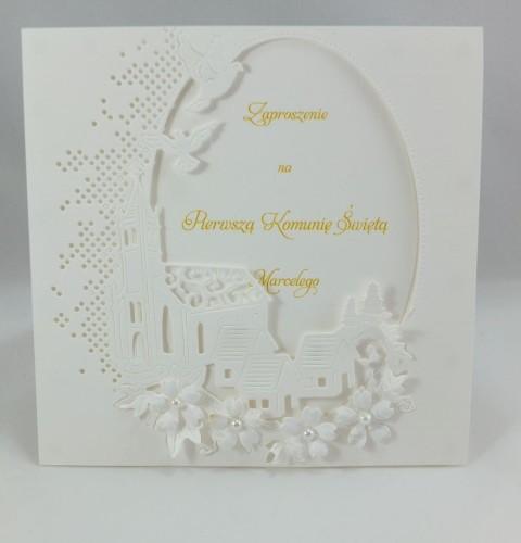 kartka ręcznie robiona, życzenia,imieniny, urodziny, ślub, komunia, chrzest, roczek, wykrojnik (84)