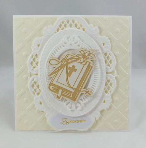 kartka ręcznie robiona, życzenia,imieniny, urodziny, ślub, komunia, chrzest, roczek, wykrojnik (87)