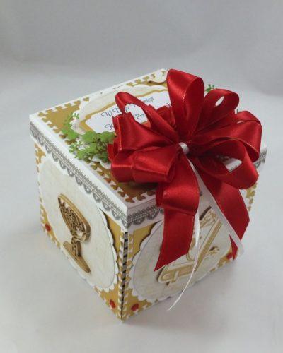 kartka ręcznie robiona, chrzest, komunia, prymicje, urodziny, ślub, haft pasja (144)